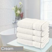 4 bathsheet cream