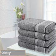 4 bathsheet grey