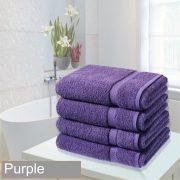 4 bathsheet purple