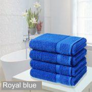 4 bathsheet royal blue
