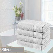 4 bathsheet silver