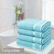 4 bathsheet turquoise