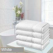 4 bathsheet white