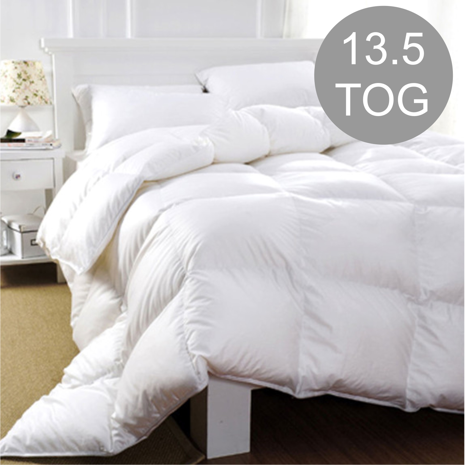 a9f371a171bc Luxury Hotel Quality 13.5 Tog Duck Feather & Down Duvet - EZY Sleep