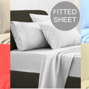 EGYPTIAN 200 FITTED SHEET colours