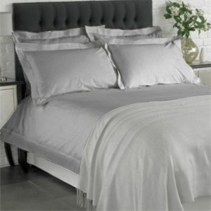 como grey duvet set