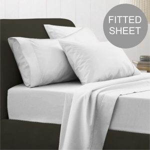 EGYPTIAN 200 FITTED SHEET