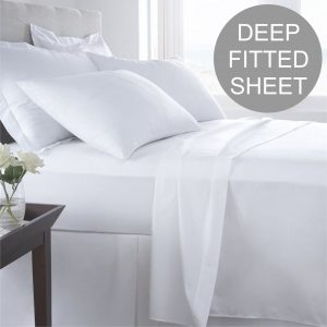 EGYPTIAN 400 DEEP FITTED SHEET