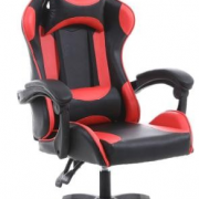 red and black gaming chair
